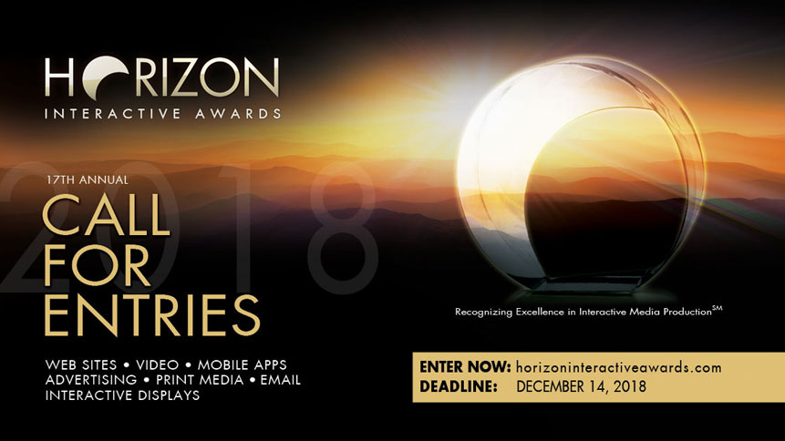 Photo of Horizon Interactive Web Design Awards Call for Entries Deadline is Approaching