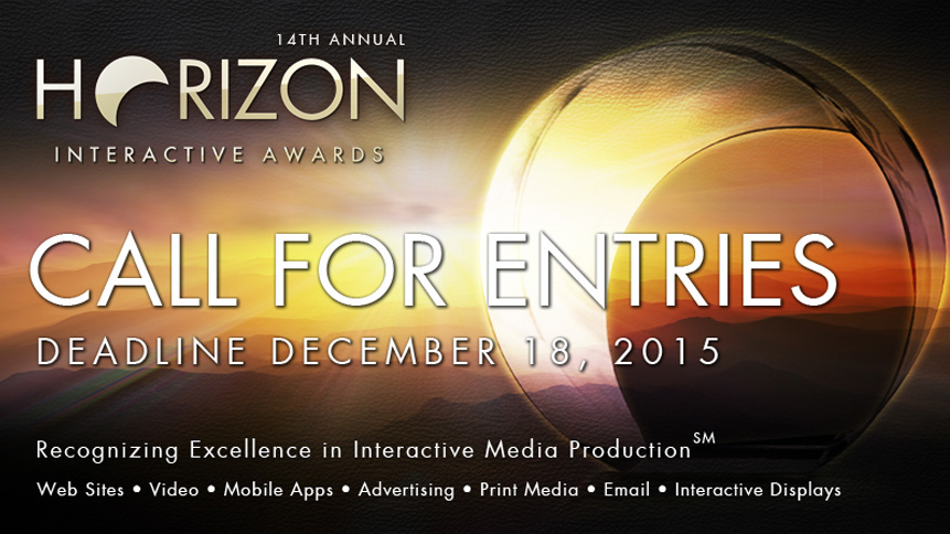 Photo of 2015 Horizon Interactive Awards Call for Entries is Now Open