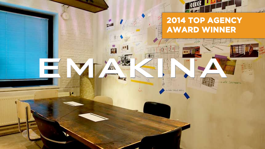 Photo of Emakina Agency talks with the Horizon Interactive Awards about the 2014 Top Agency Honor